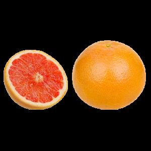 Grapefruit Star Ruby (2 pcs)